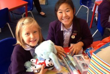 Year 6 and Reception Buddy Time