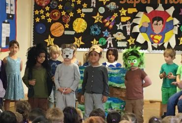 Reception's fabulous assembly