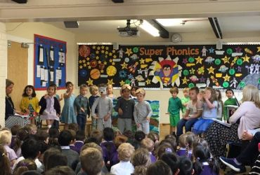 Reception's fabulous assembly