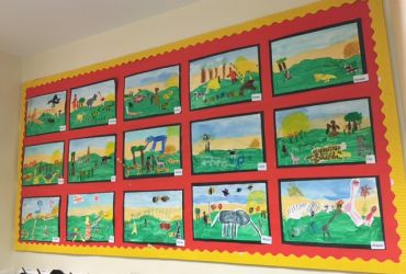 Year 1 painting-2