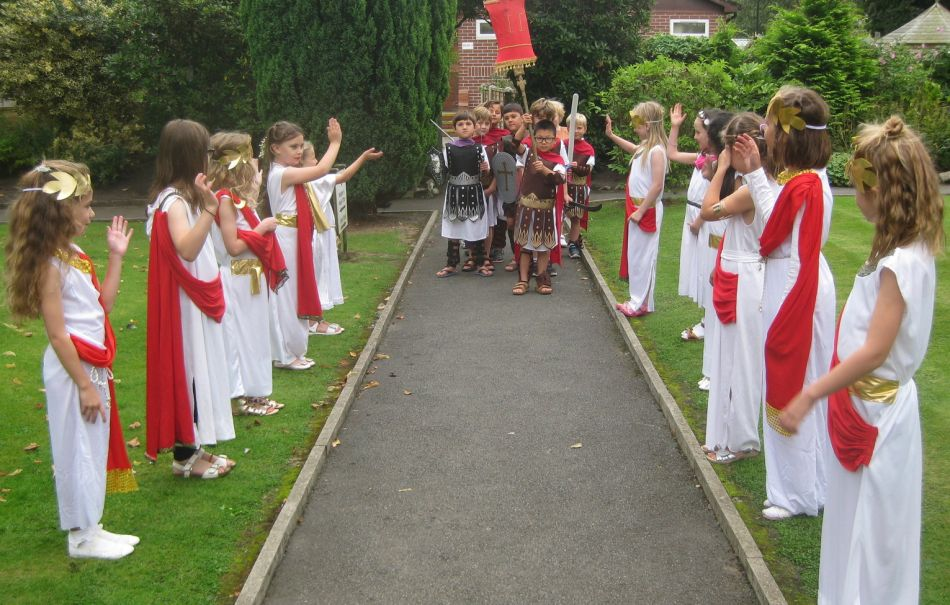 Year 3 Roman Day Forest Preparatory School