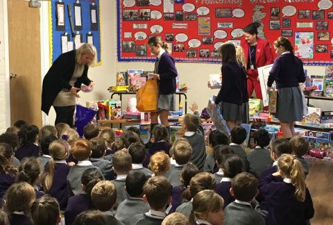 Forest Prep Christmas Toy Appeal