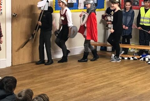 Battle of Bosworth at Forest Prep