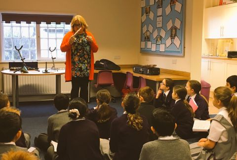 Mrs Bold Visits Year 5