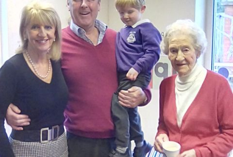 Grandparents' Afternoon in Pre-Prep