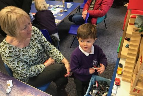 Grandparents' Afternoon in Pre-Prep