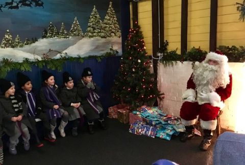 Year 1 Meet Father Christmas