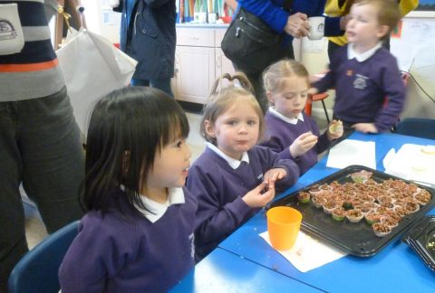 Pre-Prep Tea Party