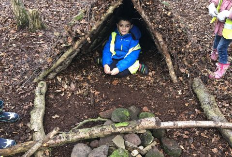 Year 2's Trip to Burwardsley
