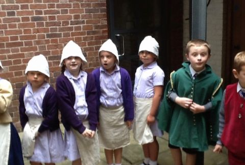 Year 2 Trip: Staircase House