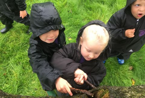 Pre-Prep Venture Outdoors for Learning