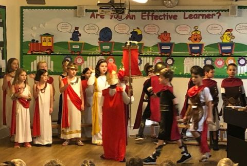 Year 3 Showcase their Learning- a X out of X Performance