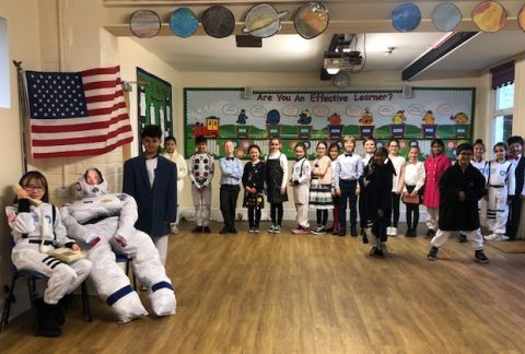 Y5's Informative Assembly: The Great Space Race