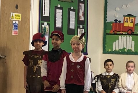 Presenting Learning: Y4 Tudor Assembly