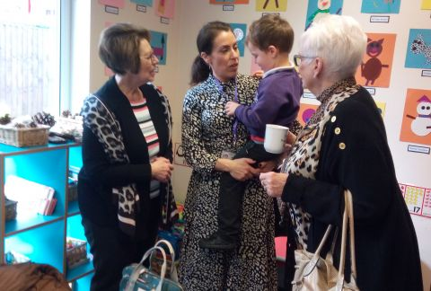 Pre-Prep's Grandparents Tea Party