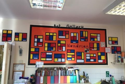 Pupil Work Around the School