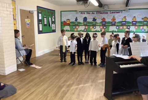 Saving the Planet: Year 1's Informative Assembly