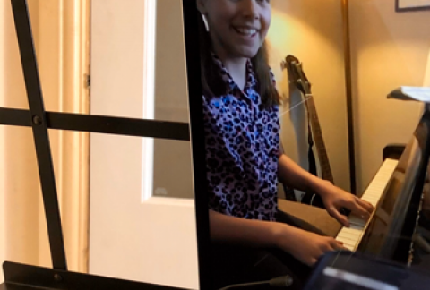 Music Lessons through Google Meet