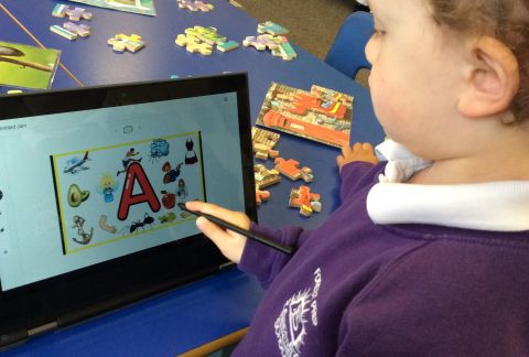 Interactive Learning in Pre-Prep