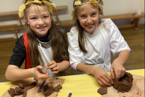Year 5 Visit Ancient Greece