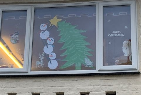 Christmas Window Challenge