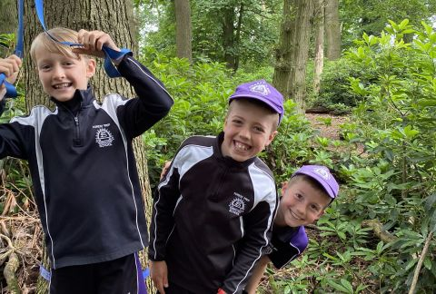 Get Them Out of There: Year 5 Go Into the Wild