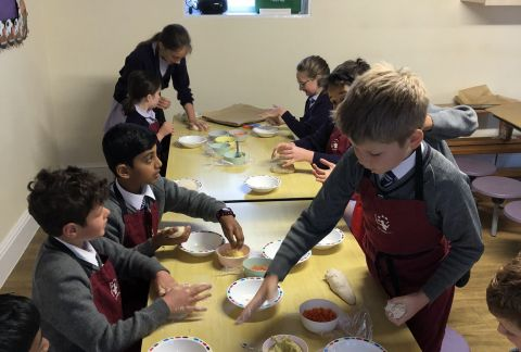 The Yeast They Deserve: Year 5 Bread Making