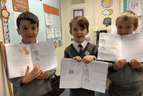 Big Efforts and Big Smiles in Year 1