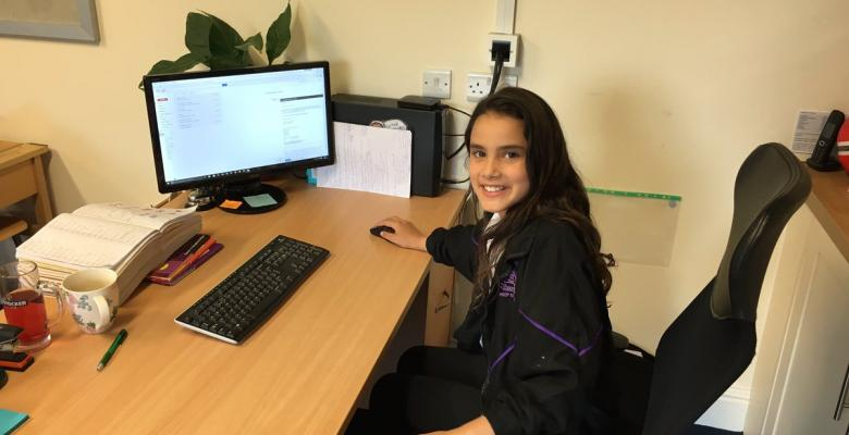 Pupil takes on role of Deputy Head
