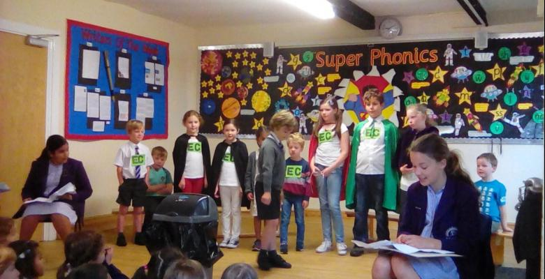 School Council's eco-friendly assembly