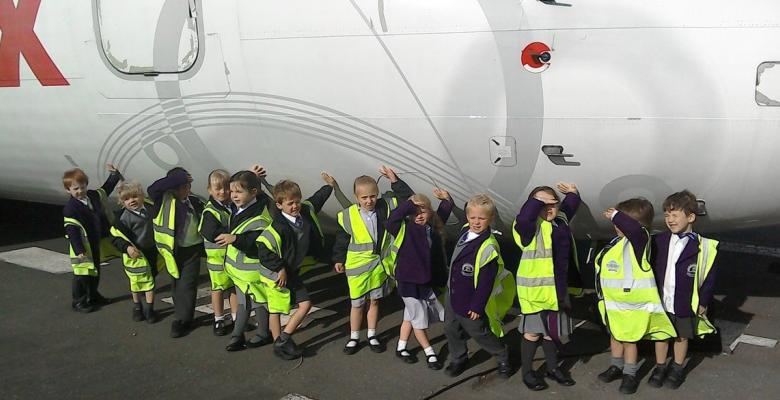Reception visit Manchester Airport