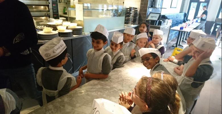 Year 2 visit Pizza Express