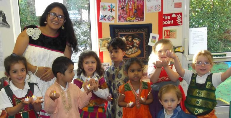 Pre-Prep learn about Diwali