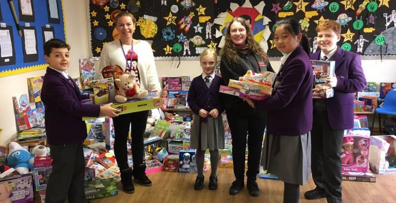 Forest Christmas Toy Appeal