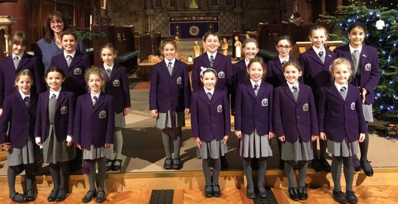 Upper School Carol Service