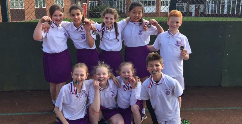 North ISA U11s High 5 Netball Tournament 2017