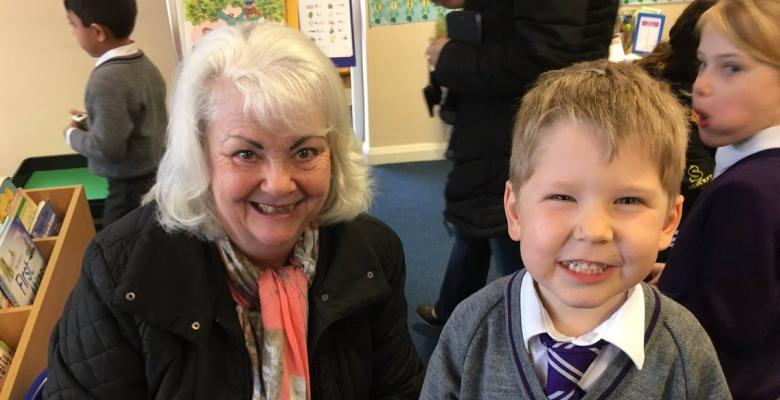 Recception Pupils celebrate Mothers' Day