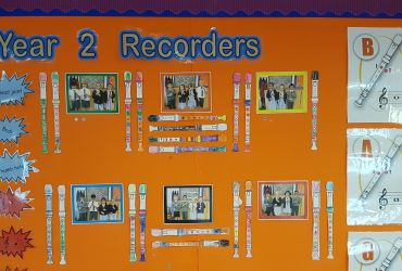 Music Room: Displays