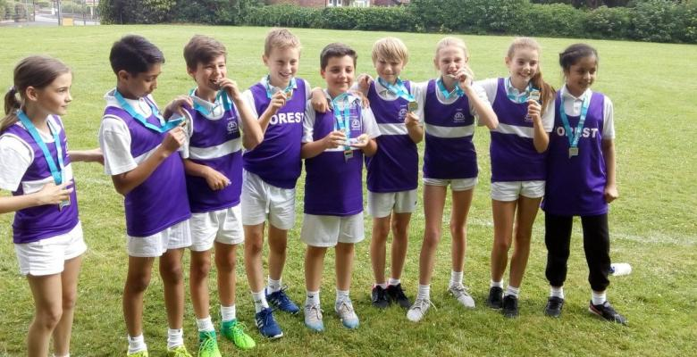 South Trafford Rounders Winners