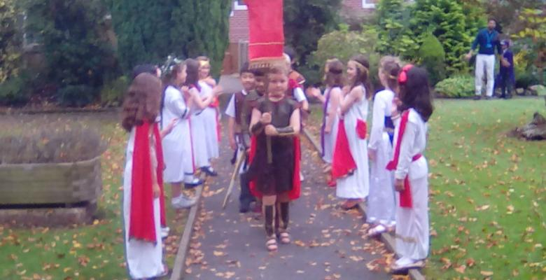 The Romans Invade Forest