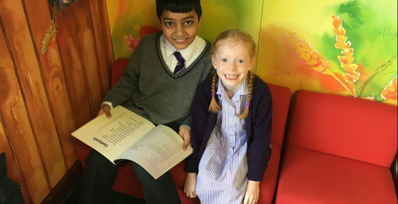 Reading Friends visit to Timperley Library