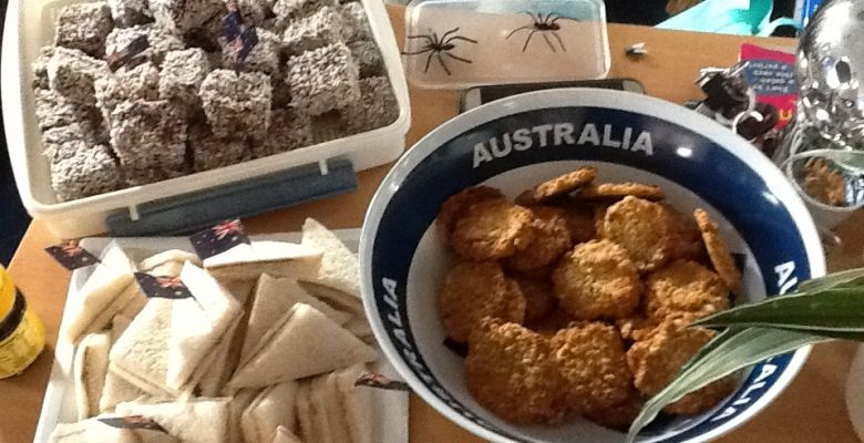 Australia Day in Reception