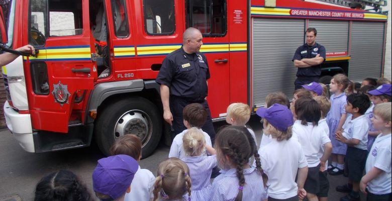 Fire Crew Visit Pre-Prep