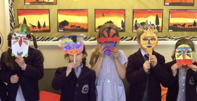 Year 1's African Adventure