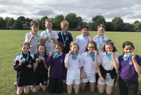 Trafford South Rounders Champions
