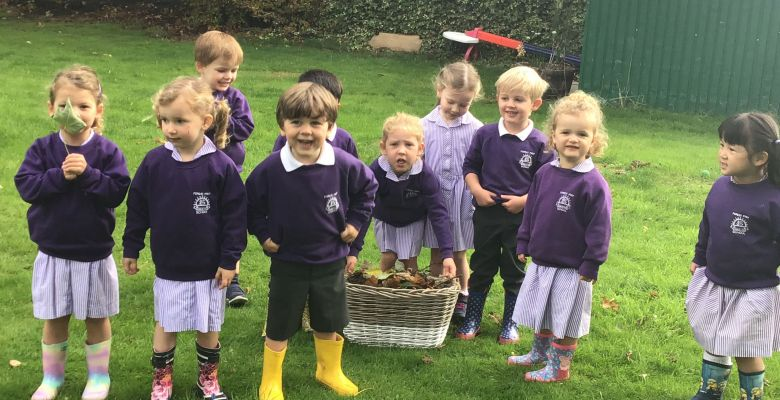 Pre-Prep's First Fortnight