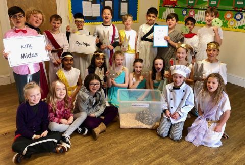 Year 5 Assembly: 'It's All Greek To Me!'