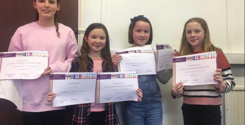 Bowdon Music Festival Achievements