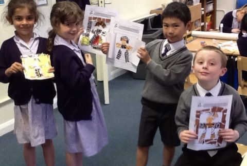 Year 1 Embrace New 'Africa' Topic