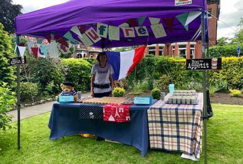 Sun Shines for Annual Open Afternoon